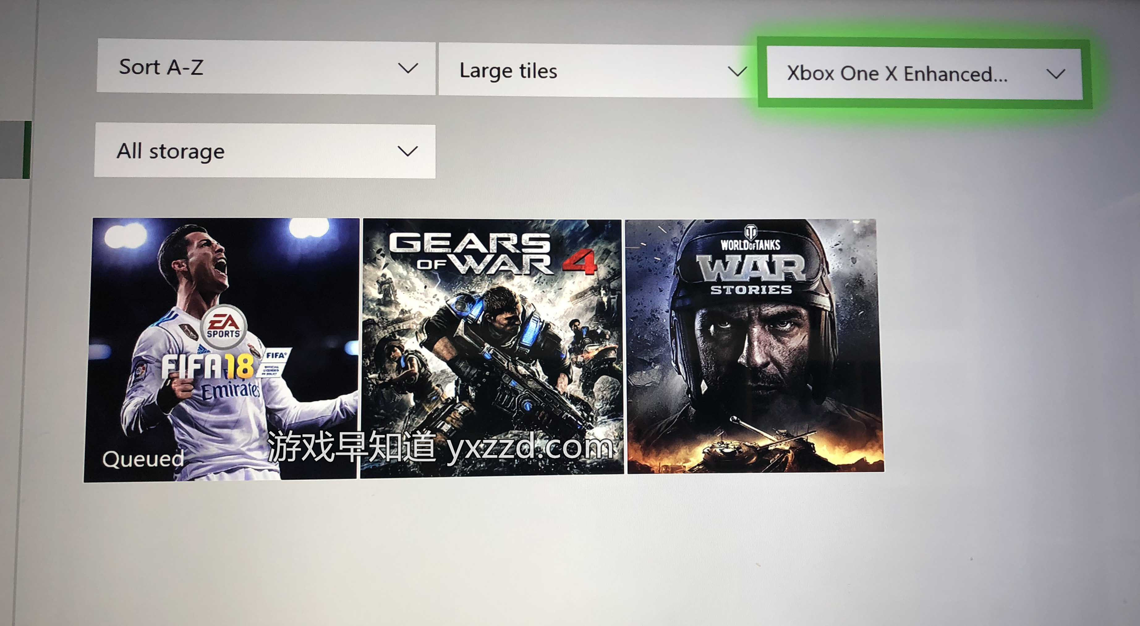 Xbox One X优化