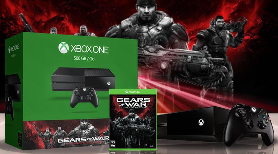 Xboxone战争机器终极版主机