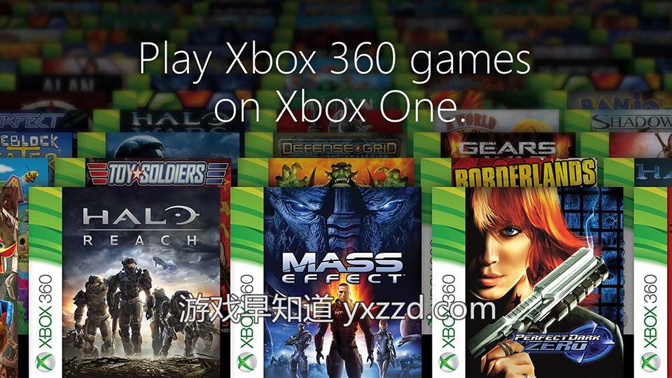 Xboxone兼容Xbox360游戏
